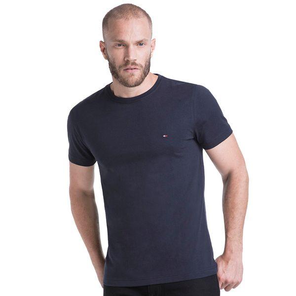 Tommy Hilfiger Box Hilfiger tee Camiseta para Hombre