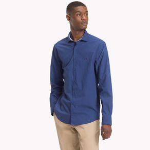 Camisa-Masculina-Popeline-Regular-Fit-Manga-Longa-Micro-Estampa-Diamante---P
