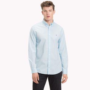 Camisa-Masculina-Classica-Popeline-Regular-Fit-Manga-Longa-Lisa---M