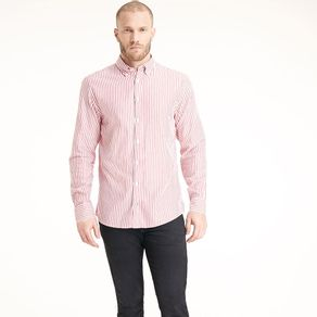 Camisa-Masculina-Twill-Regular-Fit-Manga-Longa-Listrada---GG