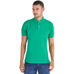 Tommy-Camisa-Polo-Masculina-50-2-Piquet-Regular-Fit-Manga-Curta-Lisa---P