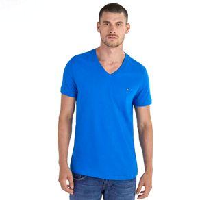 Tommy-Camiseta-Masculina-Classica-Gola-C-Lisa---P