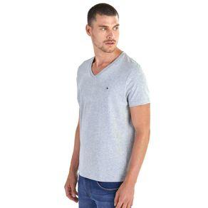 Tommy-Camiseta-Masculina-Classica-Gola-V-Lisa---P