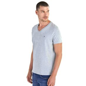 Tommy-Camiseta-Masculina-Classica-Gola-V-Lisa---EGG