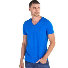 Tommy-Camiseta-Masculina-Classica-Gola-V-Lisa---M