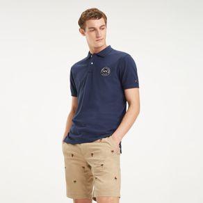 Tommy-Camiseta-Manga-Curta-Tricolor---P