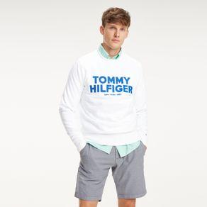 Tommy-Moletom-Slogan--Tommy-Hilfiger----M