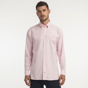 Tommy-Camisa-Oxford-Regular-Fit-Manga-Longa-Lisa---M
