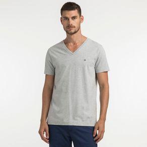 Tommy-Camiseta-Basica-Manga-Curta-Gola-V
