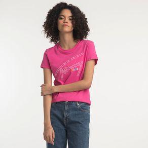 Tommy-Jeans-Camiseta-Manga-Curta-Bordado--Tommy-Jeans-