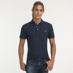 Tommy-Jeans-Polo-Manga-Curta-Classica
