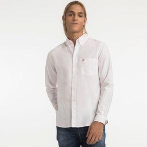 Tommy-Jeans-Camisa-Regular-Oxford-Manga-Longa-Listrada-Com-Bolso