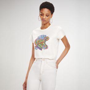 Zendaya-Camiseta-Manga-Curta-Estampa-Signo-Libra