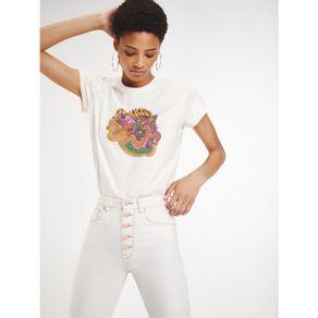 Zendaya-Camiseta-Manga-Curta-Estampa-Signo-Aquario