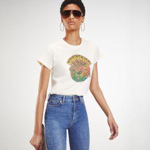 Zendaya-Camiseta-Manga-Curta-Estampa-Signo-Capricornio