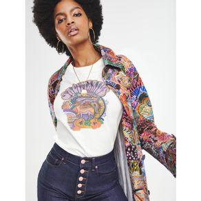 Zendaya-Camiseta-Manga-Curta-Estampa-Signo-Sagitario