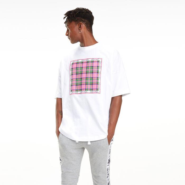c7247ddd4451 Lewis Hamilton Camiseta Manga Longa Detalhe Xadrez Bandana