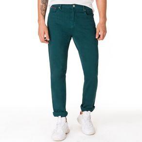 Tommy-Jeans-Calca-Jeans-Masculina-Modelagem-Slim-Com-Bordado-No-Bolso-Relogio-E-Logo-Pequeno-Bordado-No-Bolso-Traseiro