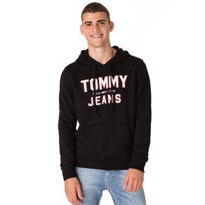 Tommy-Jeans-Moletom-Masculino-Com-Capuz-E-Estampa-Frontal