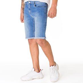 Tommy-Jeans-Bermuda-Jeans-Masculina-Com-Bordado-No-Bolso-Relogio