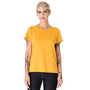 Tommy-Jeans-Camiseta-Feminina-Manga-Curta-Modelagem-Regular