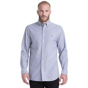 Tommy-Camisa-Masculina-Oxford-Manga-Longa-Modelagem-Regular