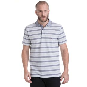 Tommy-Polo-Masculina-Oxford-Manga-Curta-Modelagem-Regular-Listrada