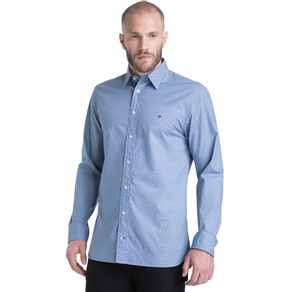 Tommy-Camisa-Masculina-Manga-Longa-Modelagem-Regular-Com-Microestampa