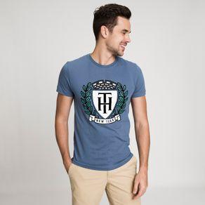 Tommy-Camiseta-Masculina-Gola-C-Estampa-Brasao