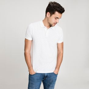 Tommy-Polo-Masculina-Manga-Curta-Fit-Regular