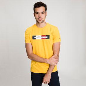 Tommy-Camiseta-Masculina-Manga-Curta-Modelagem-Regular