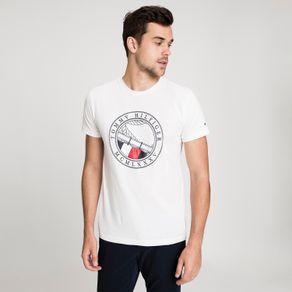Tommy-Camiseta-Regular-Round-Naval