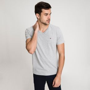 Tommy-Camiseta-Regular-V-Neck-Essential