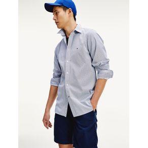 Tommy-Camisa-Slim-Geo-Print