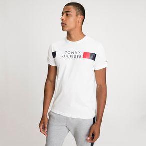 Tommy-Camiseta-Regular-Stripe