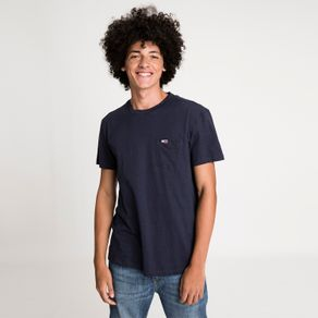 Tommy-Jeans-Camiseta-Regular-Pocket