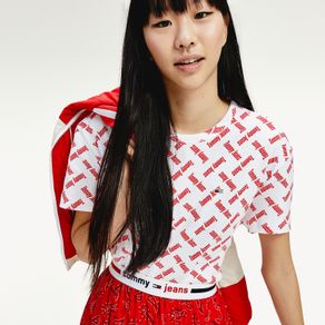 Tommy-Jeans-Camiseta-Cropped-Badge