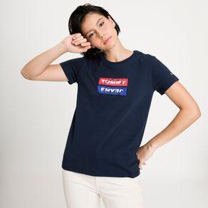 Tommy-Jeans-Camiseta-Regular-Mirror