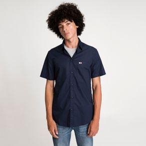 Camisa-Popeline-Manga-Curta