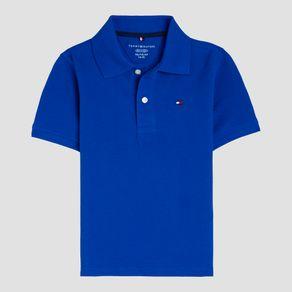 Polo-Infantil-Tommy-Hilfiger-Azul