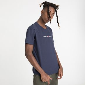 Tommy-Jeans-Camiseta-Manga-Curta-Straight-Logo