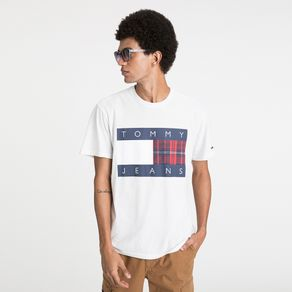 Tommy-Jeans-Camiseta-Manga-Curta-Bandeira-Logo-Tommy-Jeans-