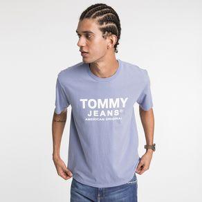 Tommy-Jeans-Camiseta-Manga-Curta-Essential-Logo-Frontal