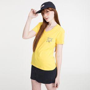 Tommy-Jeans-Camiseta-Feminina-Essential-Gola-V