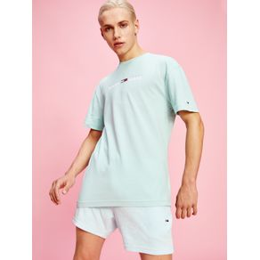 Tommy-Jeans-Camiseta-Logo-Linear-Colecao-Pastel-Azul