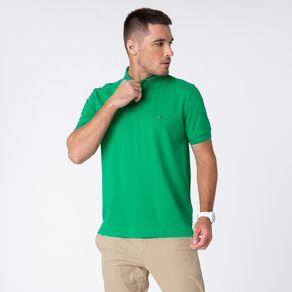 Tommy-Hilfiger-Polo-Classica-Regular-Verde