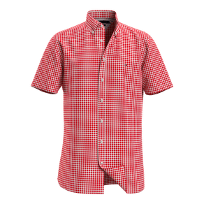 Camisa-Regular-Gingham-Manga-Curta