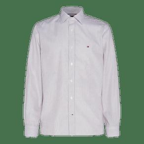 Camisa-Slim-Listrada-Sarja-De-Algodao