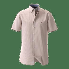 Camisa-Regular-Listrada-Manga-Curta