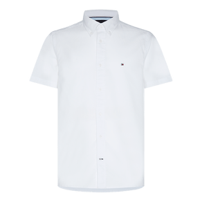 Camisa-Regular-Manga-Curta-Oxford